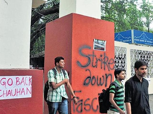 FTII,Students' protest at FTII,Gajendra Chauhan