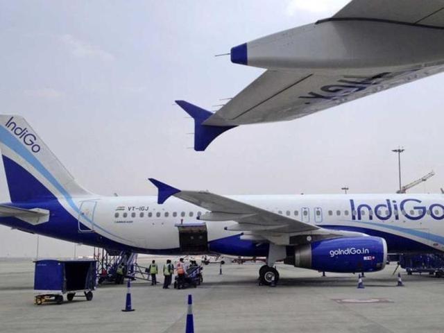 IndiGo airlines,Flight,Woman in short dress