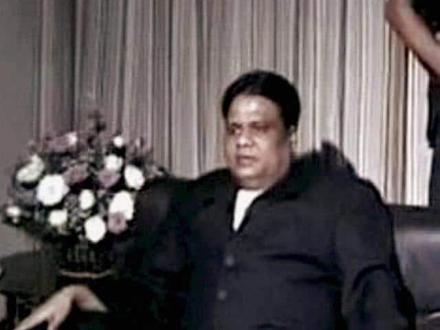 Underworld don Chhota Rajan was caught by Indonesian police in Bali on Sunday