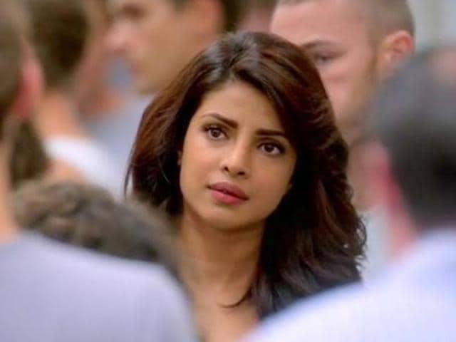 Priyanka Chopra plays FBI trainee Alex Parrish in Quantico.