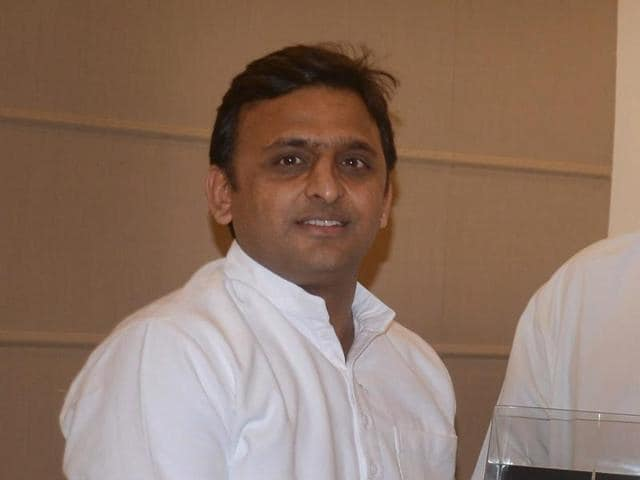 UP chief minister Akhilesh Yadav.