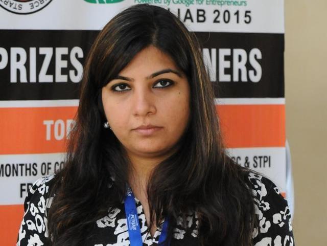 Shwetika Kumar has developed the cervical cancer detection kit.
