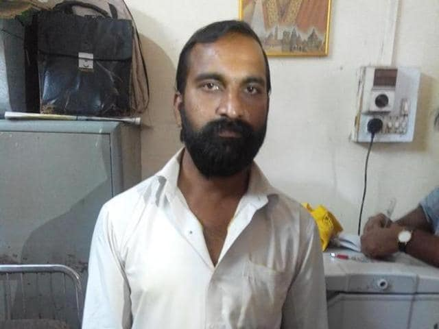 Chandrabhan Sanap, the accused in Esther Anuhya murder case.