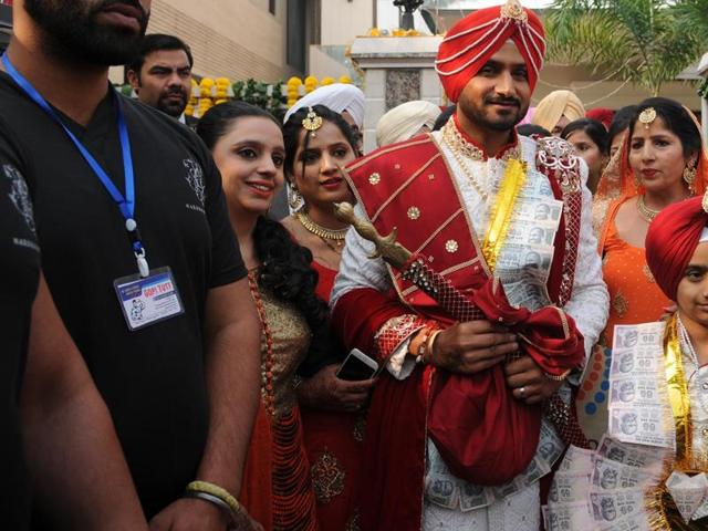Harbhajan marriage