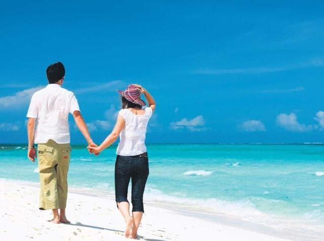 Port Blair is famous for its pristine beaches and sea food.