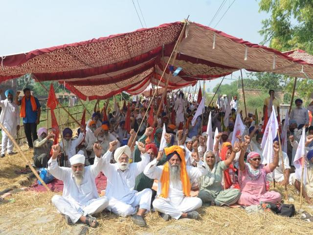Punjab farmers,BKU-Ekta Ugrahan,Badal government