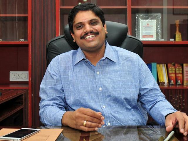 Deputy Commissioner,Ajit Balaji Joshi,e-district services