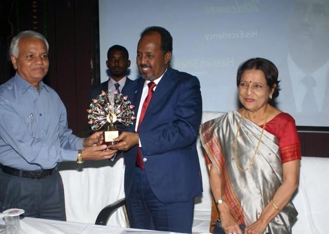 Somalia President,Hassan Sheikh Mohamud,Somalia President in Bhopal