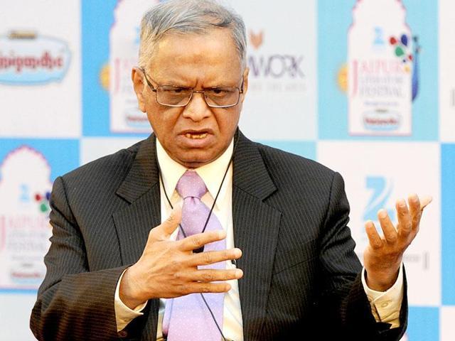 Infosys founder NR Narayana Murthy.