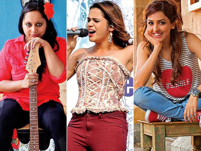 Photo (from left to right): Aditi Singh Sharma (Getty Images); Shilpa Rao (Saumya Khandelwal); Sona Mohapatra.