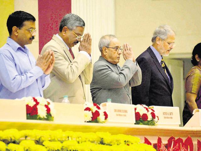 President Pranab Mukherjee,Arvind Kejriwal,AAP government