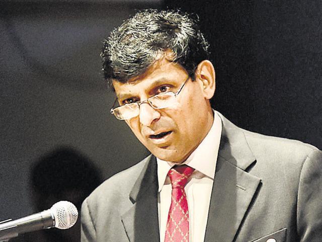 RBI governor Raghuram Rajan.