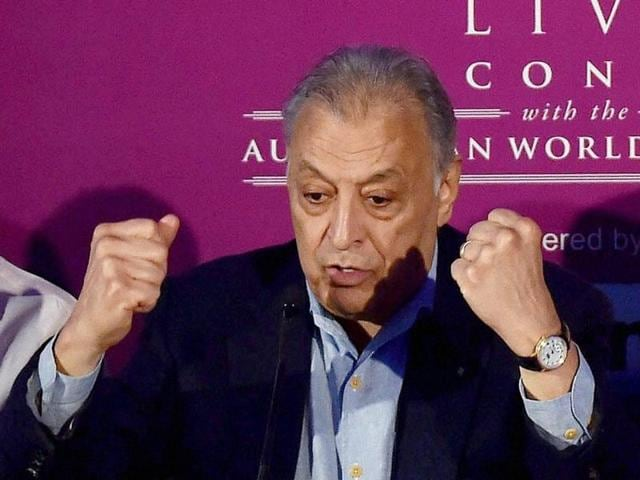 Zubin Mehta,Protesting artists,Pakistani cricketers in IPL