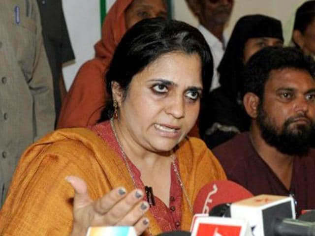 Accusing BJP leaders of using words loaded with communal overtones, Teesta Setalvad said that government should know that without social justice there is no democracy. (AFP File Photo)