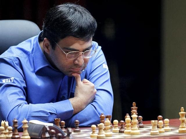 A file photo of Viswanathan Anand.