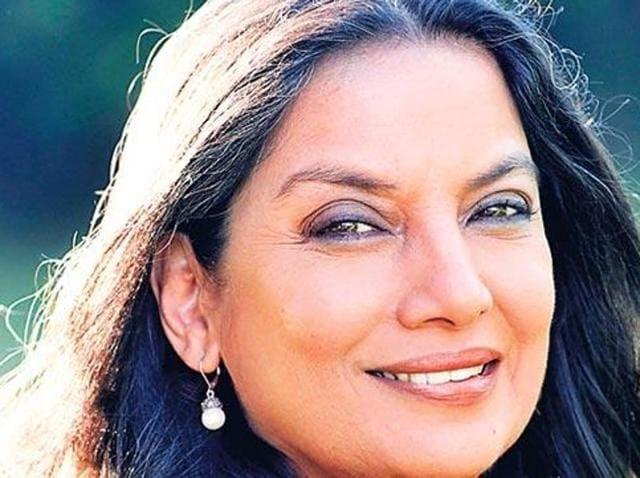 Film actor and activist Shabana Azmi.