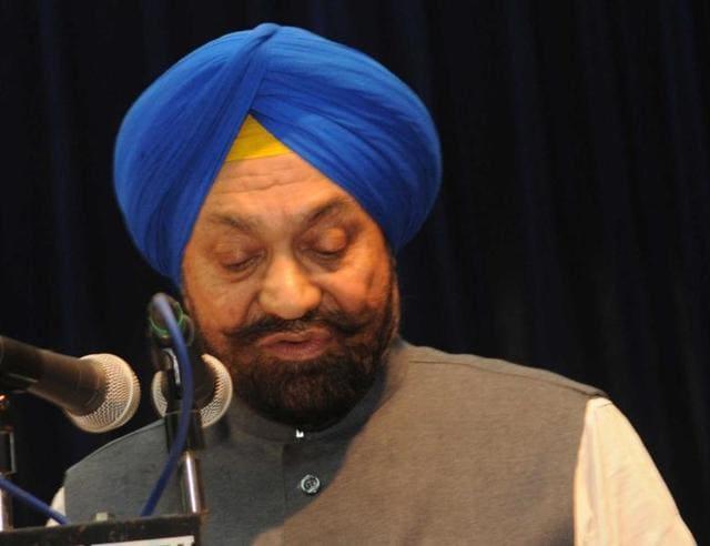 Balwant Singh Ramoowalia.