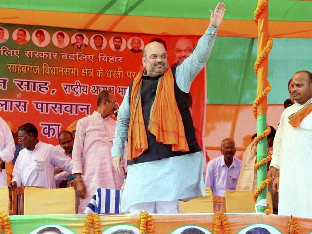 BJP chief Amit Shah had told an election rally on the Indo-Nepal border in East Champaran that if BJP loses in Bihar, Diwali will be celebrated in Pakistan.
