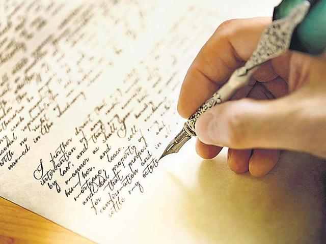 Experts believe bad handwriting is the result of excessive use of touch screens and keyboards in this digital age.