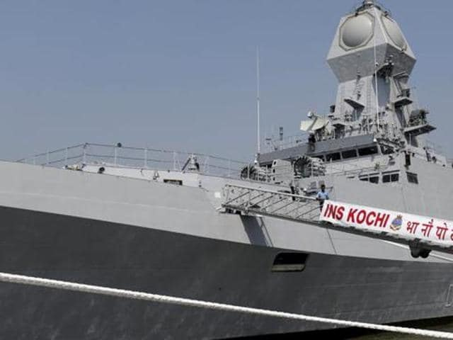 A file photograph of INS Kochi.