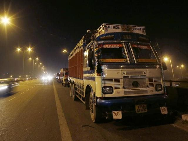 The Supreme Court had asked the state government to levy an environment tax on inbound trucks that pass through the capital.
