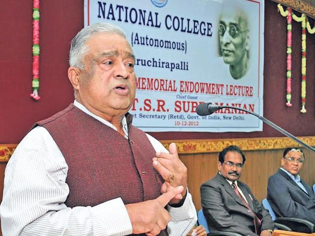 National Education Policy,HRD ministry,TSR Subramanian
