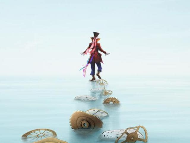 The Mad Hatter returns in Alice Through the Looking Glass.