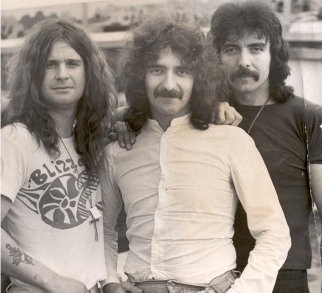 English rock band Black Sabbath was formed in Birmingham, UK in 1968, by Tony Iommi, Geezer Butler, Ozzy Osbourne and Bill Ward.