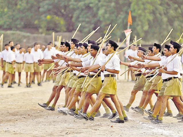 Undeterred by growing protests, the RSS has now announced a campaign to 'correct religious imbalance'. It has announced a nationwide campaign to spread disharmony.