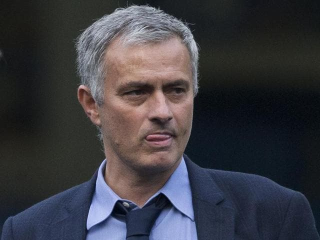 Chelsea manager Jose Mourinho after the EPL match against Liverpool at Stamford Bridge in London on October 31, 2015. Liverpool won 3-1.