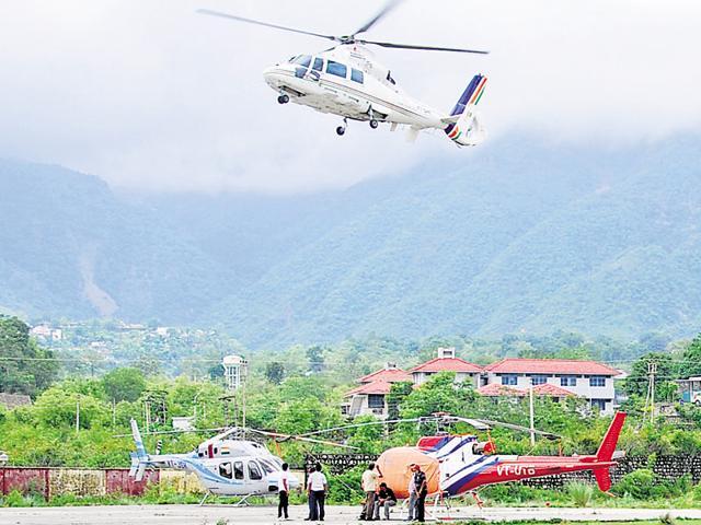 Kedarnath,Uttarakhand,Chardham Helipad