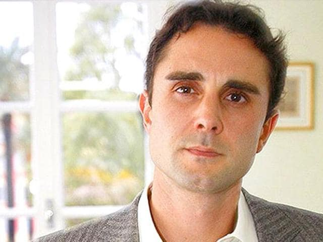 File photo of Herve Falciani, a French citizen and former employee of HSBC Private Bank in Geneva.