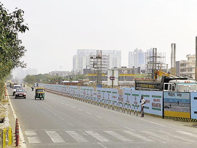 The proposed project will take the metro to Greater Noida's developing residential zones.