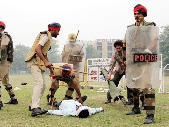 A 10-day training camp, organised for cops from three districts of Bathinda, Mansa and Muktsar,Bathinda