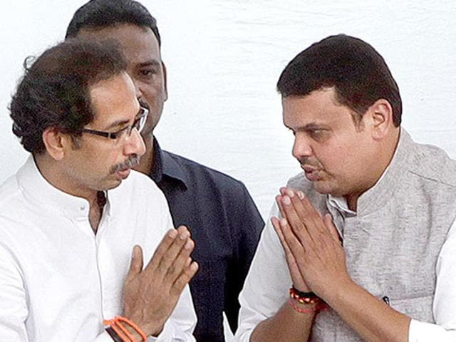 Kalyan-Dombivli civic polls,Devendra Fadanvis,Uddhav Thackeray