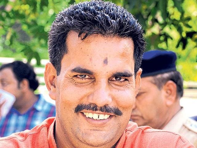 The 36-year-old single mother approached police commissioner Navdeep Singh Virk and told him that she was being constantly threatened by deputy mayor Parminder Kataria (above).