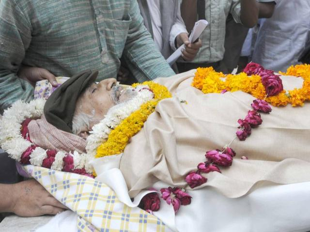The death of Gurcharan Chhabra, a member of the now-defunct Janata Dal who was elected to the state assembly in 1977, saw the opposition Congress holding the government responsible.