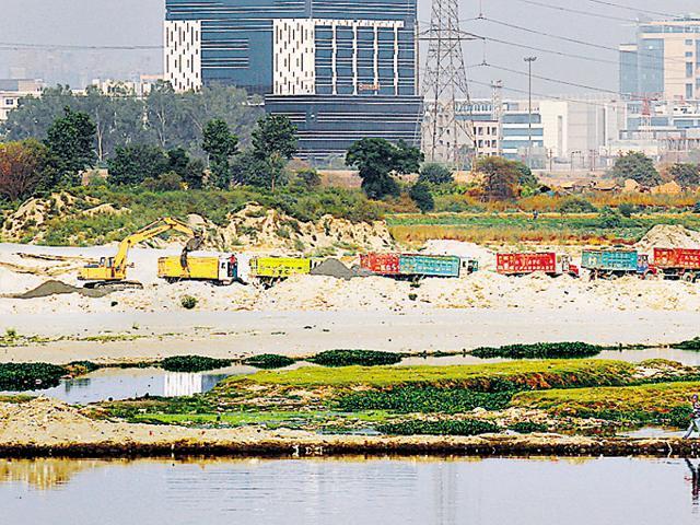 Noida,Green tribunal,sand mining