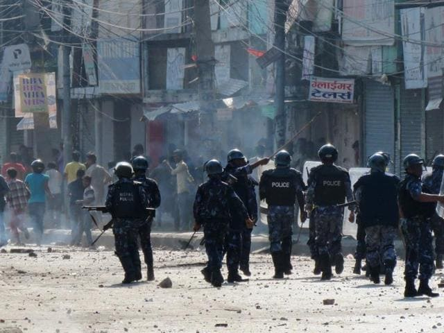 Nepal Constitutional violence