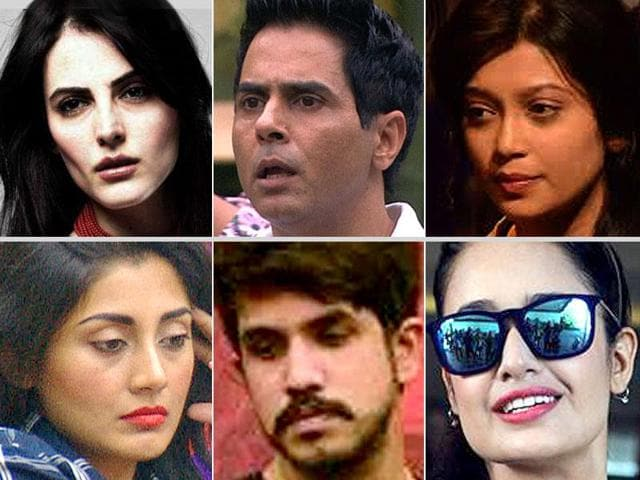 Aman Verma, Digangana and Mandana are three of the six contestants nominated for eviction this week.