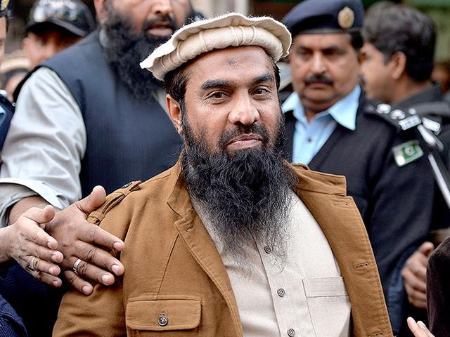 A file photo of JuD chief Hafiz Saeed.