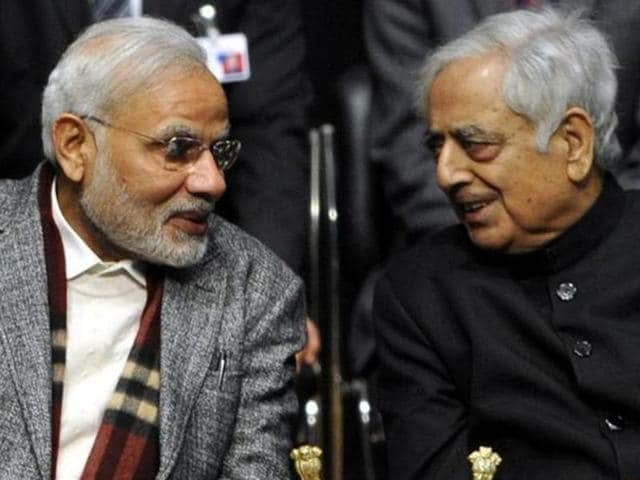 Mufti Mohammad Sayeed had said the PM Narendra Modi, who is visiting the state on November 7, is neither intolerant nor communal.