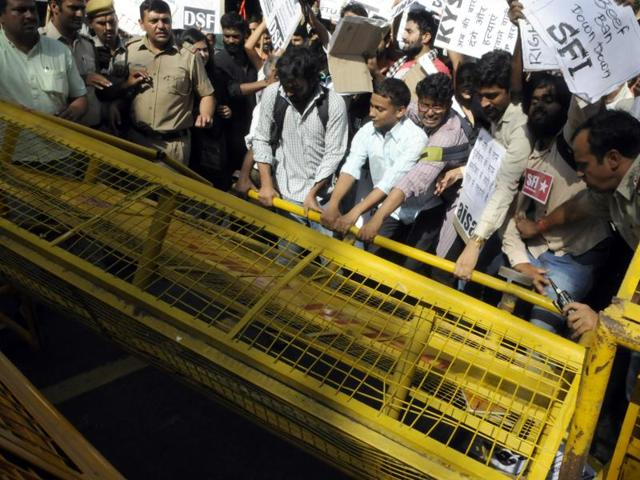 The murder of Muslim man in a UP village for allegedly eating beef had sparked national outrage.(HT File Photo)