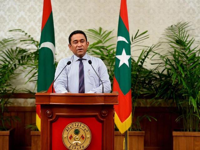 Maldives President Abdulla Yameen.(Reuters File Photo)