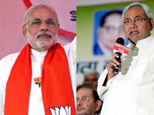 Grand Alliance has objected to BJP's 'cow' advertisement in Bihar.
