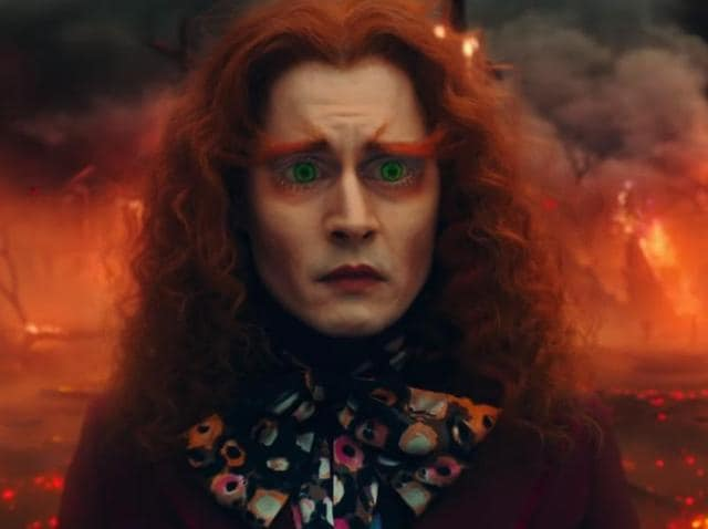 Alice Through The Looking Glass,Trailer,Johnny Depp