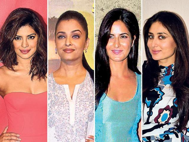 Priyanka Chopra, Aishwarya Rai Bachchan and Kareena Kapoor Khan will all star opposite younger actors.