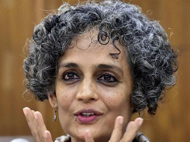 Social activist Arundhati Roy.