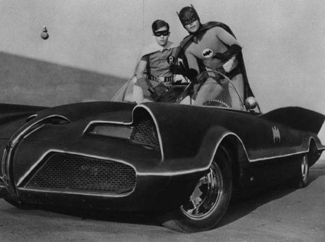 The original 1960s Batmobile.