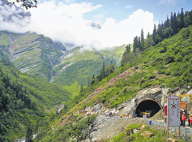 Rohtang Tunnel,Border Roads Organization,Lahaul Spiti